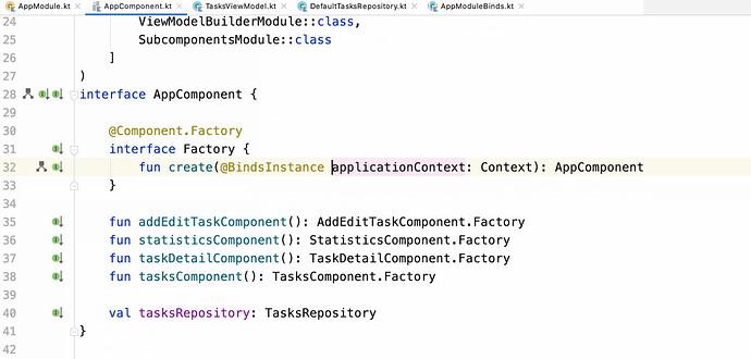 在 Android Studio 中新增的 Dagger 导航支持