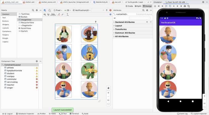 因为工具属性的关系,导致 Layout Editor 中的预览效果和模拟器的渲染效果有差异